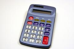 Cheap Calculator Stock Photos