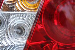 tail lamp - stock photo