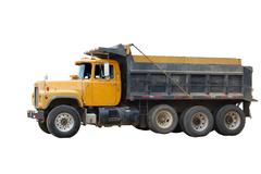 dumb truck - stock photo