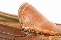 Shoe macro Stock Photos