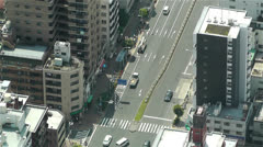 Tokyo Skytree Oshiage Aerial View to Tokyo 46 Stock Footage