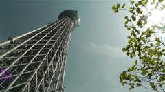 Tokyo Skytree Oshiage Japan 1 Stock Footage