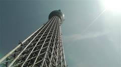 Tokyo Skytree Oshiage Japan 2 Stock Footage