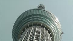 Tokyo Skytree Oshiage Japan 3 Stock Footage