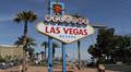 Welcome to Fabulous Las Vegas Sign Strip Mandalay Bay Hotel Casino Car Traffic HD Footage