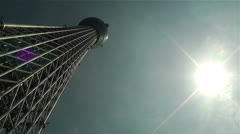 Tokyo Skytree Oshiage Japan 5 Stock Footage