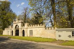 redbourne gateway, no1 - stock photo