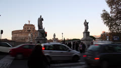 Rome timelapse Stock Footage