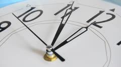 Stock Video Footage of clock hands