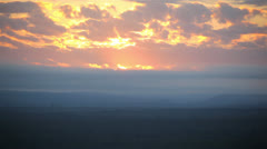 Clouds With Sun 01 HD Stock Footage