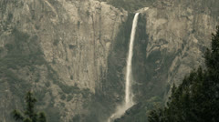 Yosemite National Park, Bridalveil Falls Stock Footage