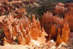 Bryce canyon national park vista Stock Photos