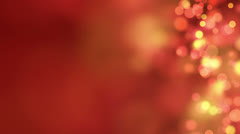 Stock Video Footage of loopable abstract background red bokeh circles 4k