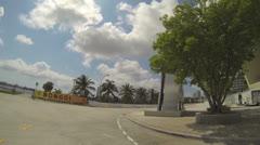 Bongo's Downtown Miami Stock Footage