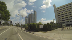 Downtown Miami Florida Stock Footage