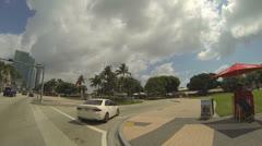 Downtown Miami Bayside - stock footage