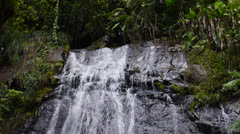 Waterfalls at El Yunque Tropical National Forest 2 Stock Footage