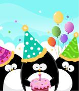 Happy Birthday - stock illustration