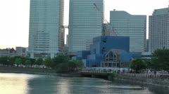 Yokohama Minato Mirai Japan 2 Stock Footage