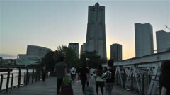 Yokohama Minato Mirai Japan 4 Stock Footage
