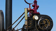 Stock Video Footage of Vintage Steam Engine