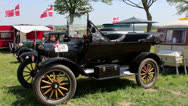 Stock Video Footage of Veteran car
