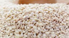Barley Scoop Stock Footage