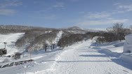 Snowy mountain Stock Footage