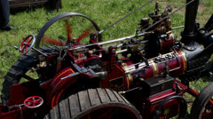 Sound of a steam engine Stock Footage