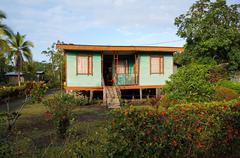 Karibian talo Costa Ricassa Kuvituskuvat
