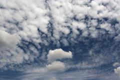 Floating clouds Stock Photos