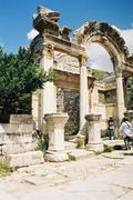Bathhouse in Efeze in Turkey Stock Photos
