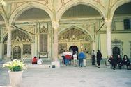 Harem stay Topkapi Saray in Istanbul in Turkey Stock Photos