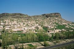 Ghost city from cave dwellings in Turkey - stock photo