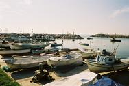 Port of Akçakoca on the Black See in Turkey Stock Photos