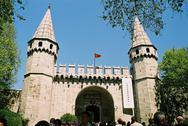 Topkapi Saray in Istanbul in Turkey Stock Photos