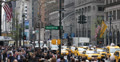 Ultra HD 4K Crowds, Traffic, Commuters, New York City, People Passing, USA Footage