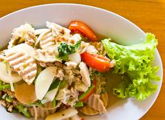 Thai cuisine yummy Stock Photos