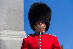 ceremonial guard - stock photo