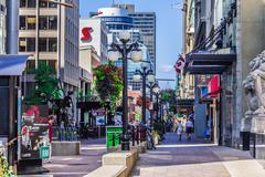 A street in Ottawa - stock photo