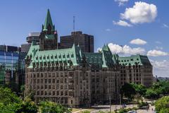 Stock Photo of Confederation Building