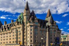 Ottawa vanha Chateau Laurier hotelli Kuvituskuvat