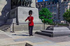 ceremonial guard - stock photo