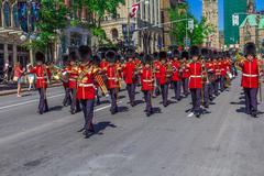 ceremonial guard parade - stock photo