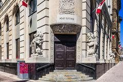 post office in ottawa - stock photo