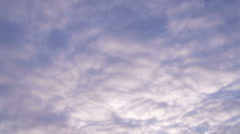 Cloudlapse Right to Left Clearing to Blue - stock footage