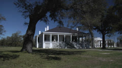 Beauvoir Plantation, Biloxi Mississippi Stock Footage