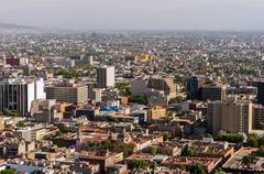 Mexico City View Kuvituskuvat