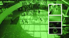Surveillance Stock Footage