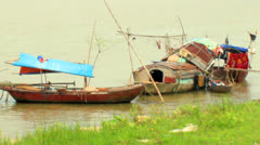 Fishing villages Stock Footage